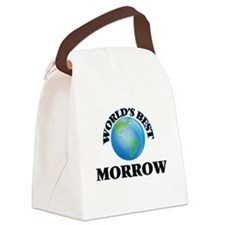World's Best Morrow Canvas Lunch Bag