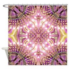 Pink Healing Energy 2 Shower Curtain