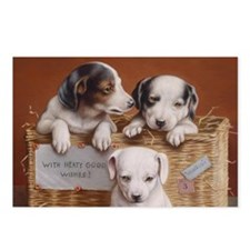With Hearty Good Wishes Postcards (Package of 8)