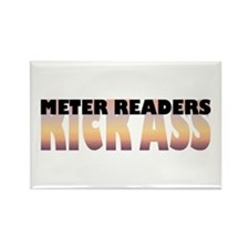 Meter Readers Kick Ass Rectangle Magnet