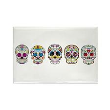 Skulls By Design Rectangle Magnet
