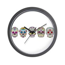 Skulls By Design Wall Clock