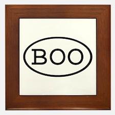 BOO Oval Framed Tile