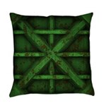 Rusty Shipping Container - green Master Pillow