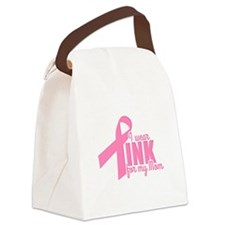 Pink For My Mom Canvas Lunch Bag