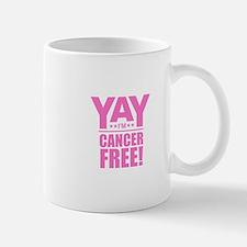 Cancer Free - Pink Mugs