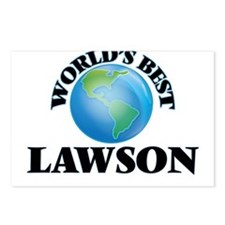 World's Best Lawson Postcards (Package of 8)