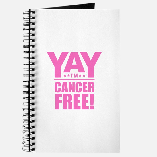 Cancer Free - Pink Journal