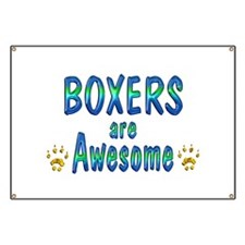 Boxers are Awesome Banner