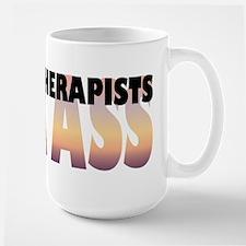 Massage Therapists Kick Ass Mug