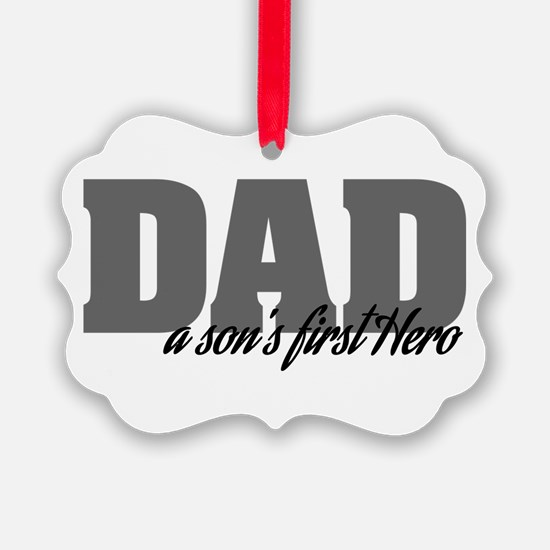 A Son's First Hero Ornament