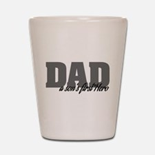 A Son's First Hero Shot Glass