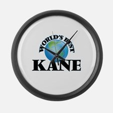 World's Best Kane Large Wall Clock