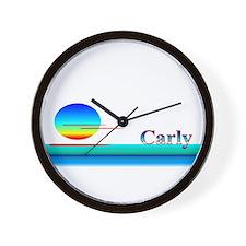 Carly Wall Clock