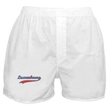 Retro Luxembourg Boxer Shorts