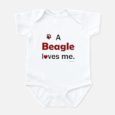 A Beagle Loves Me Infant Bodysuit