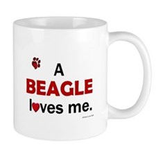 A Beagle Loves Me Mug
