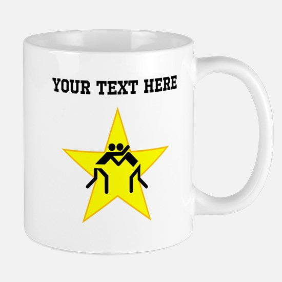 Wrestling Star (Custom) Mugs