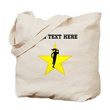 Runner Silhouette Star (Custom) Tote Bag