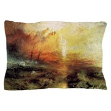 The Slave Ship by Turner Pillow Case