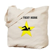 Swimmer Star (Custom) Tote Bag