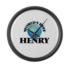 World's Best Henry Large Wall Clock