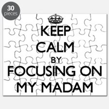 Keep Calm by focusing on My Madam Puzzle