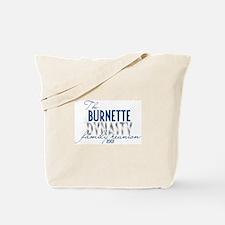 BURNETTE dynasty Tote Bag