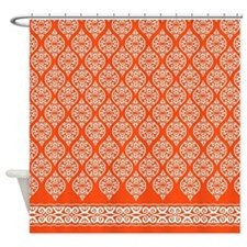 Morroccan Latticework Shower Curtain