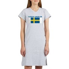 Cute Swedish american Women's Nightshirt