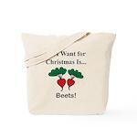 Christmas Beets Tote Bag