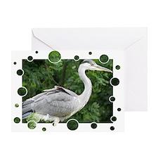 Grey Heron Greeting Cards