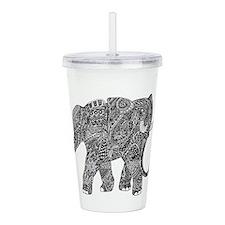 Snake-elephant Fantasy Indian Ink Acrylic Double-w
