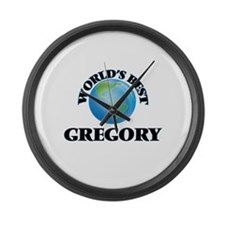 World's Best Gregory Large Wall Clock