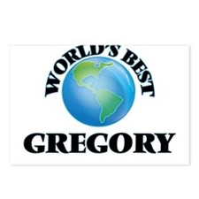 World's Best Gregory Postcards (Package of 8)