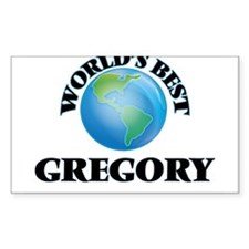 World's Best Gregory Decal