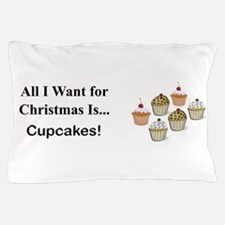 Christmas Cupcakes Pillow Case