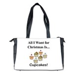 Christmas Cupcakes Diaper Bag