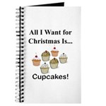 Christmas Cupcakes Journal
