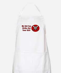 My Kid Can Strike Out Your Kid BBQ Apron