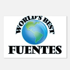 World's Best Fuentes Postcards (Package of 8)