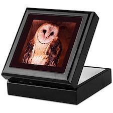 Owl Keepsake Gift Box