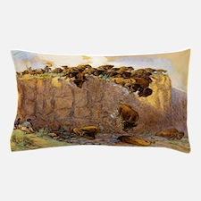 Buffalo Jump Pillow Case
