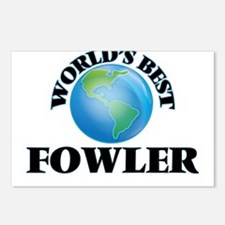 World's Best Fowler Postcards (Package of 8)