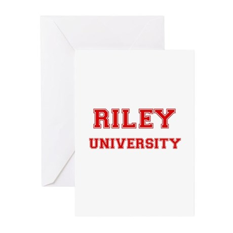 RILEY UNIVERSITY Greeting Cards (Pk of 10)