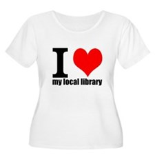 Library Love Plus Size T-Shirt