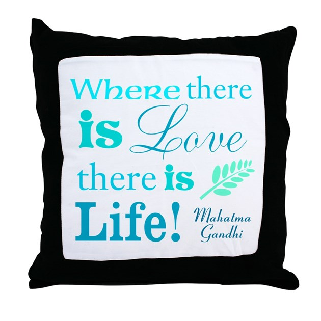 Love Life Throw Pillow : Love is Life Throw Pillow by Loving_Life