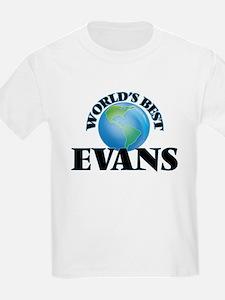 World's Best Evans T-Shirt