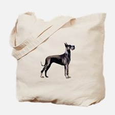 Black Great Dane (stnd) Tote Bag