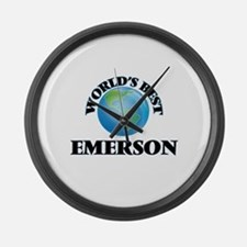 World's Best Emerson Large Wall Clock
